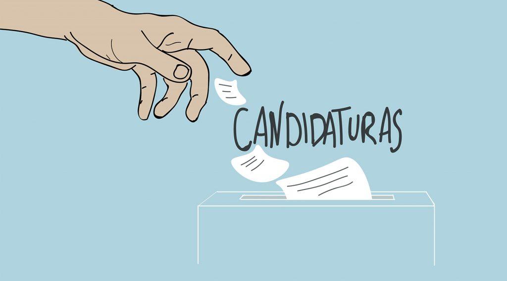 Ilustração representativa de Candidaturas
