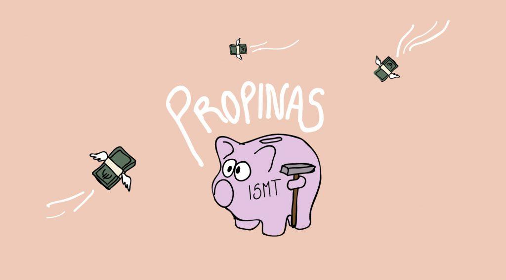Ilustração representativa de Propinas